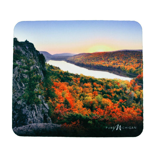 Fall Scenery Mouse Pad - Pure Michigan