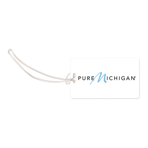 Luggage Tag w/Pure Michigan Logo - Front