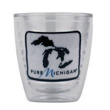 Load image into Gallery viewer, 12 oz. Tervis Tumbler with Black Pure Michigan Logo