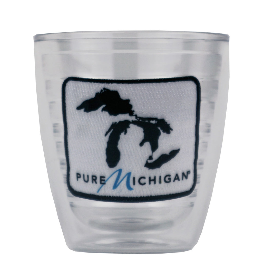 12 oz. Tervis Tumbler with Black Pure Michigan Logo