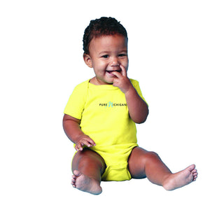 Lemon Yellow Infant Onesie (Size 18-24m Only)
