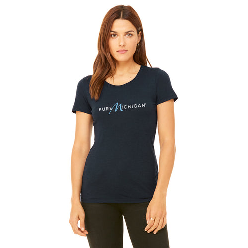 Women's 100% Cotton Pure Michigan T-Shirt