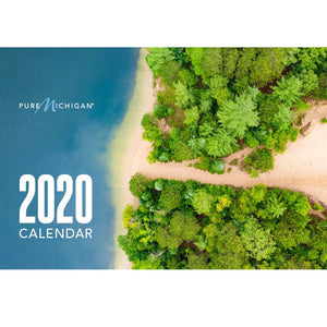 2020 Pure Michigan Calendar - Front Cover