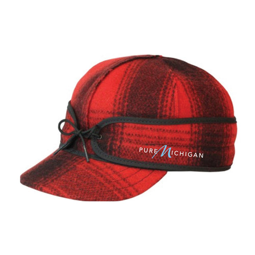 Pure Michigan Stormy Kromer Plaid Cap