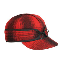 Load image into Gallery viewer, Pure Michigan Stormy Kromer Plaid Cap