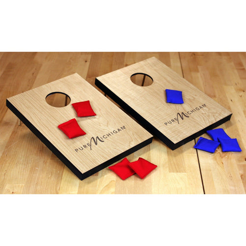 Pure Michigan Logo Table Top Corn Hole Game