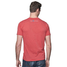 Load image into Gallery viewer, Cardinal 50/50 Blend T-Shirt with Black/Blue Pure Michigan Logo on Reverse