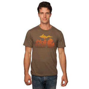 50/50 Blend T-Shirt w/Fall Filter Design