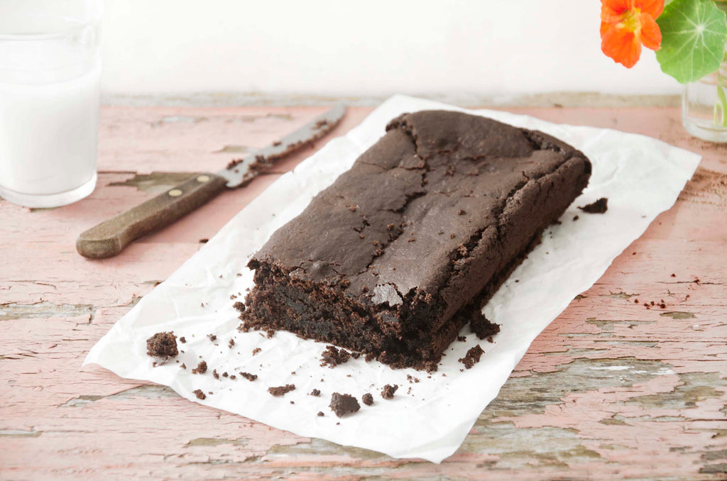Brownie de chocolate (vegano e sem glúten)