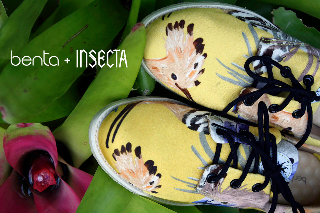 Collab Benta Studio + Insecta Shoes