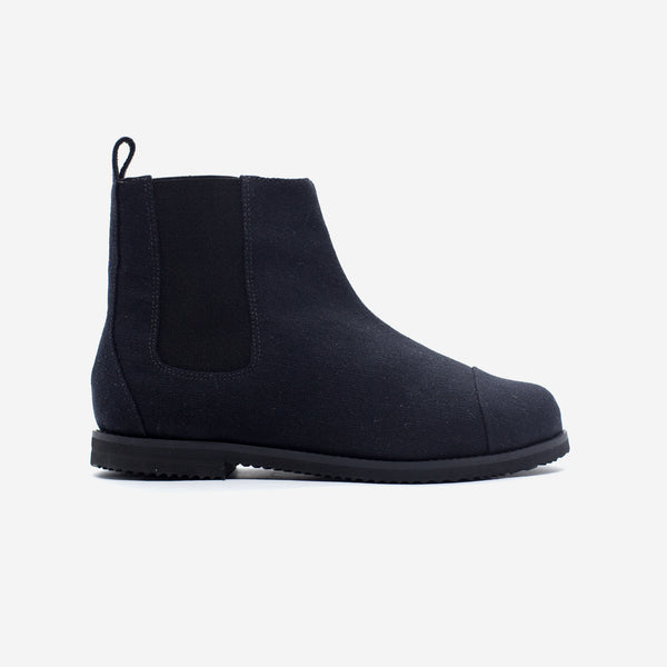 MONO BLACK CHELSEA BOOT - Insecta Shoes