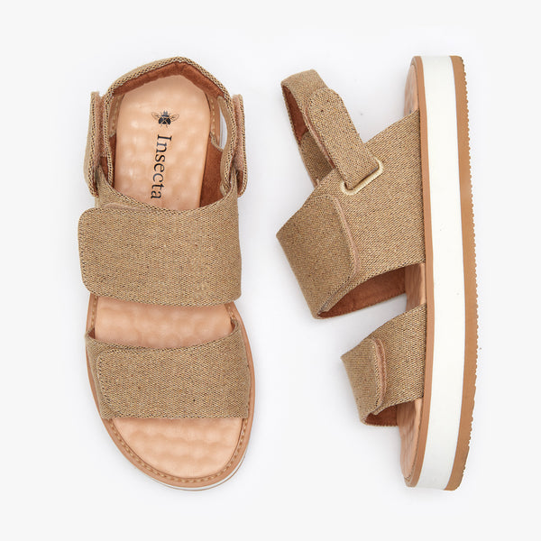 MONO CASTANHA STRAP SANDAL - Insecta Shoes Brasil