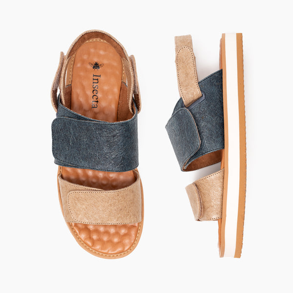 Piñatex Mix Strap Sandal
