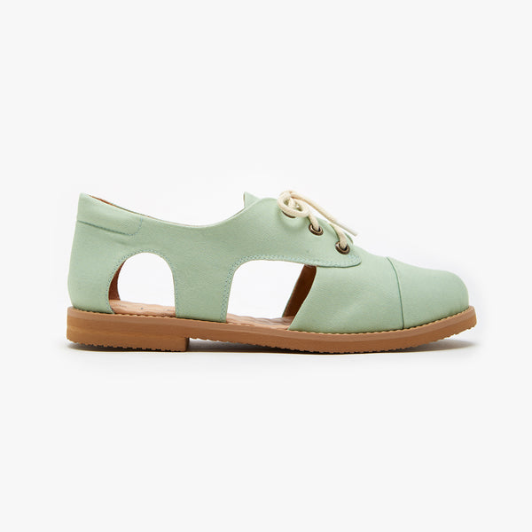 PISTACHE CUTOUT OXFORD
