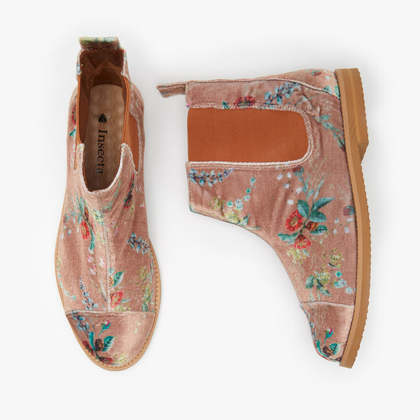 VELUDO CAMELIA CHELSEA BOOT - Insectashoes brasil