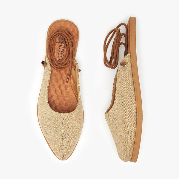 MONO CASTANHA MULE COM ILHÓS - Insecta Shoes Brasil