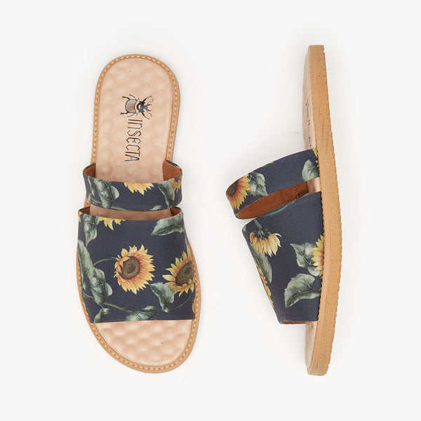 FLOR DO SOL MARINHO SLIDER - Insecta Shoes