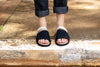 MONO BLACK MIX SLIDER - Insecta Shoes