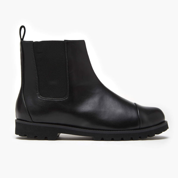 LAMINADO PRETO CHUNKY CHELSEA BOOT - Insecta Shoes Brasil