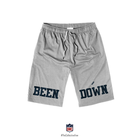 Been Down (Men's Heather Grey Shorts)