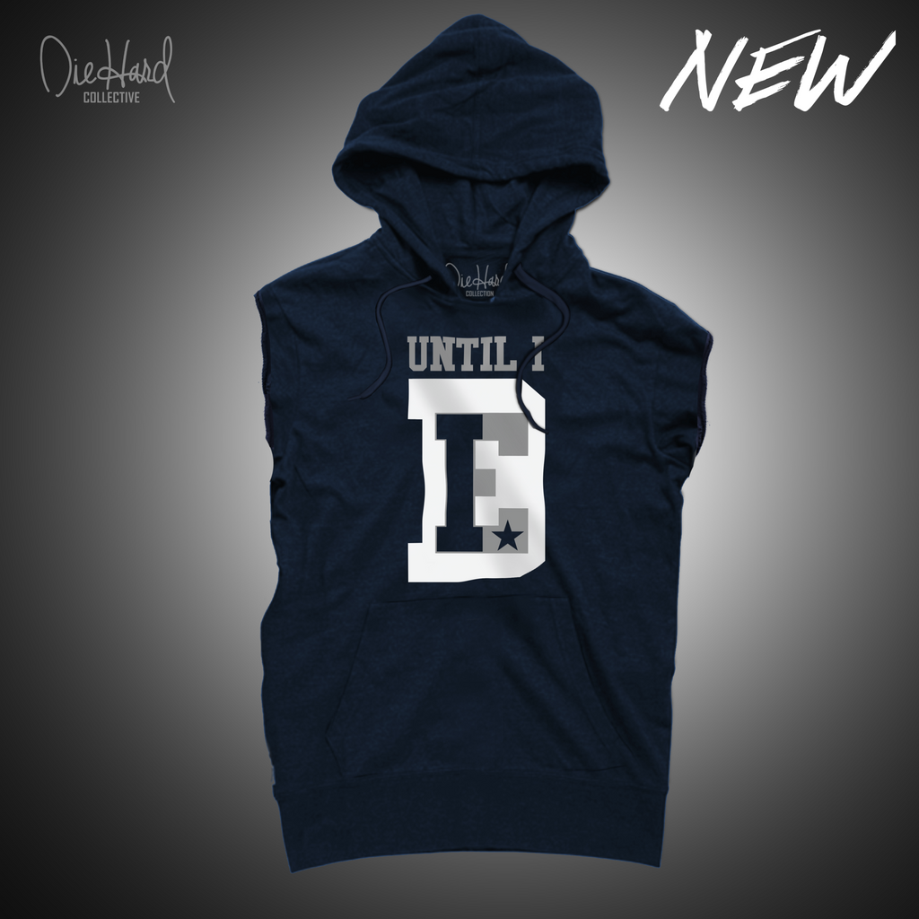 Until I Die (Men's Sleeveless Hoodie)