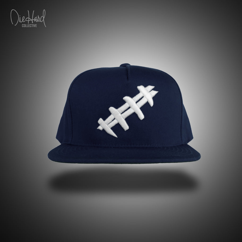 Earn Your Stripes Snapback (Navy Blue) NEW!