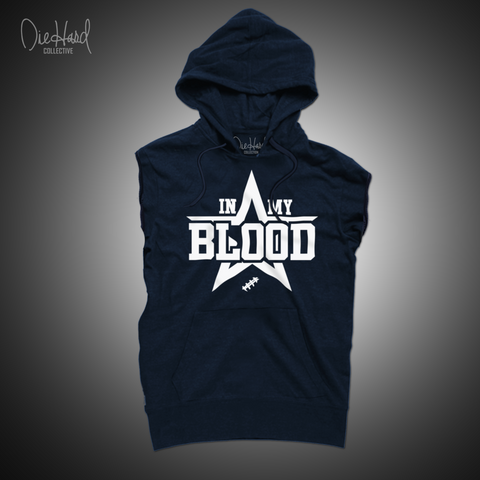 In My Blood (Men's Sleeveless Hoodie)