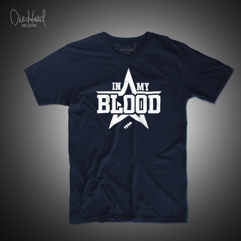 In My Blood (Men's Navy Tee)