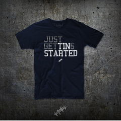 Just Get 6  (Men's Navy Tee)