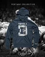 Until I Die Throwback (Vintage Navy Hoodie)