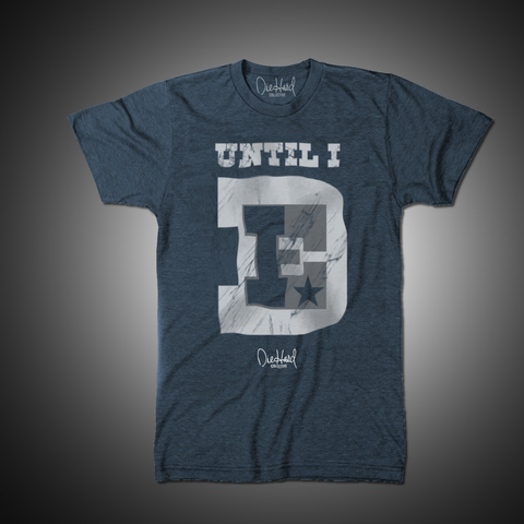 Until I Die Throwback (Vintage Navy T-Shirt)