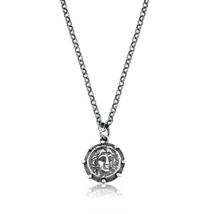 Silver Handmade Ancient Coin Necklace