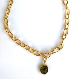 Handmade 24 Karat Gold Necklace