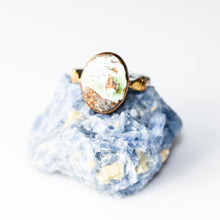 Load image into Gallery viewer, Statement Silver Turquoise Ring