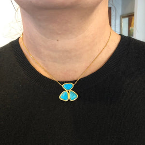 Silver Turquoise Necklace