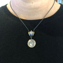 Load image into Gallery viewer, 24 Karat Gold Coin Necklace
