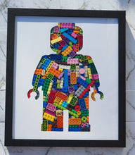Load image into Gallery viewer, Lego Man Framed Art