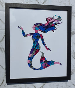 Mermaid Framed Art