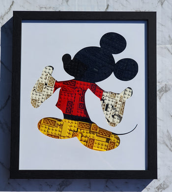 Mickey Mouse Framed Art