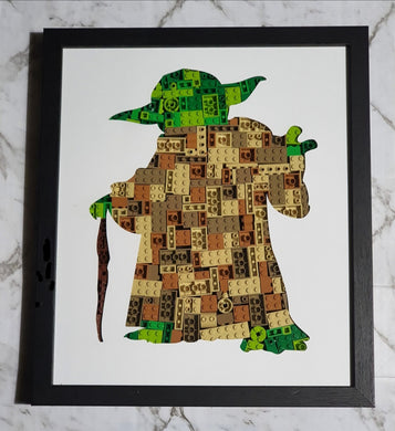 Yoda Framed Art