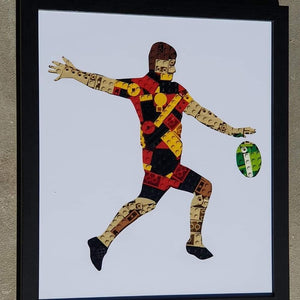 Rugby themed Framed Art