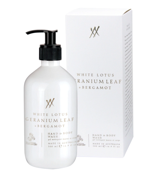 Urban Rituelle Alchemy - White Lotus, Geranium Leaf and Bergamot - Hand and Body Wash