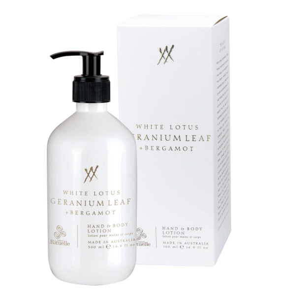 Urban Rituelle Alchemy - White Lotus, Geranium Leaf and Bergamot - Hand and Body Lotion