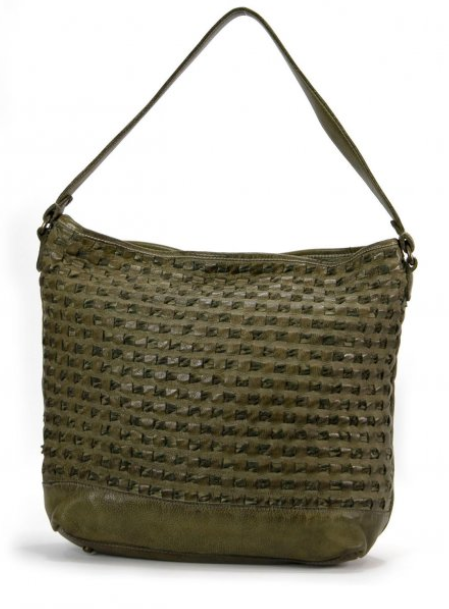 Mahson & Co Weaving Wonders Shoulder Bag - Olive