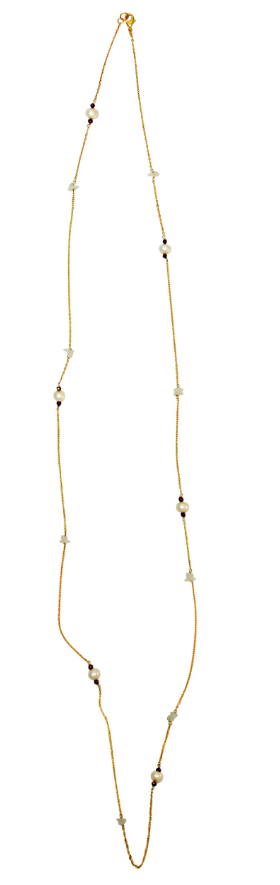 Zoda Necklace - Pearls
