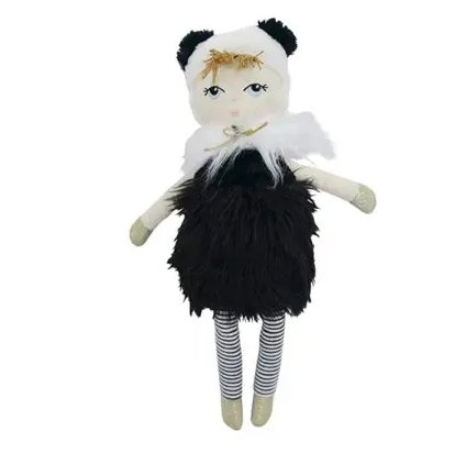 Annabel Trends Dress Up Doll - Panda