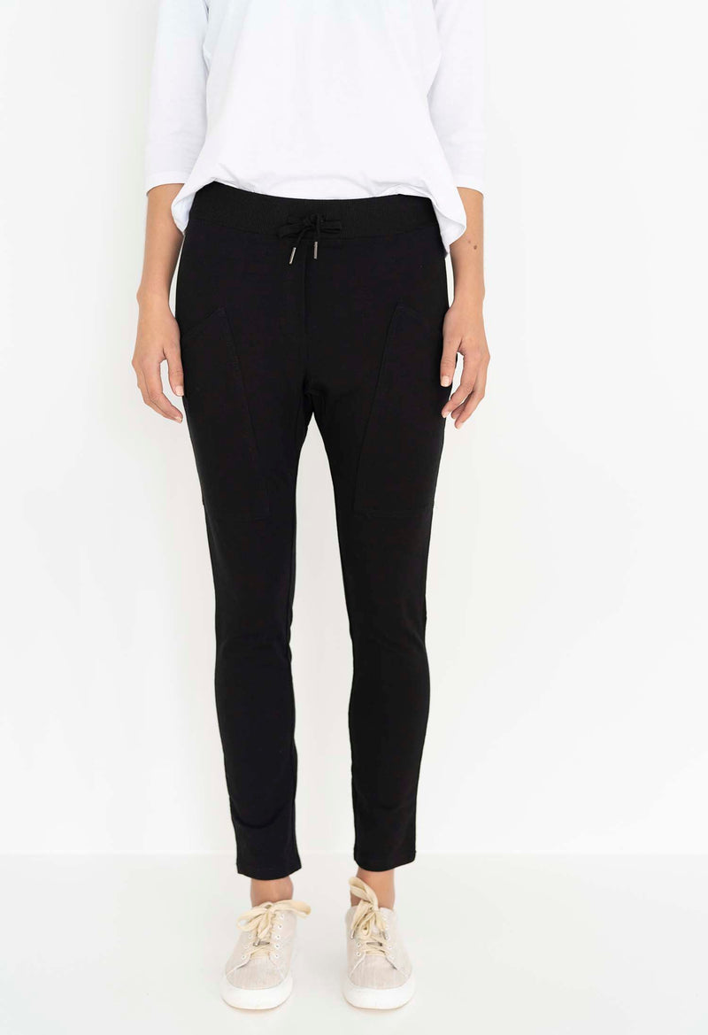 Humidity Lifestyle Slouch Pant - Black