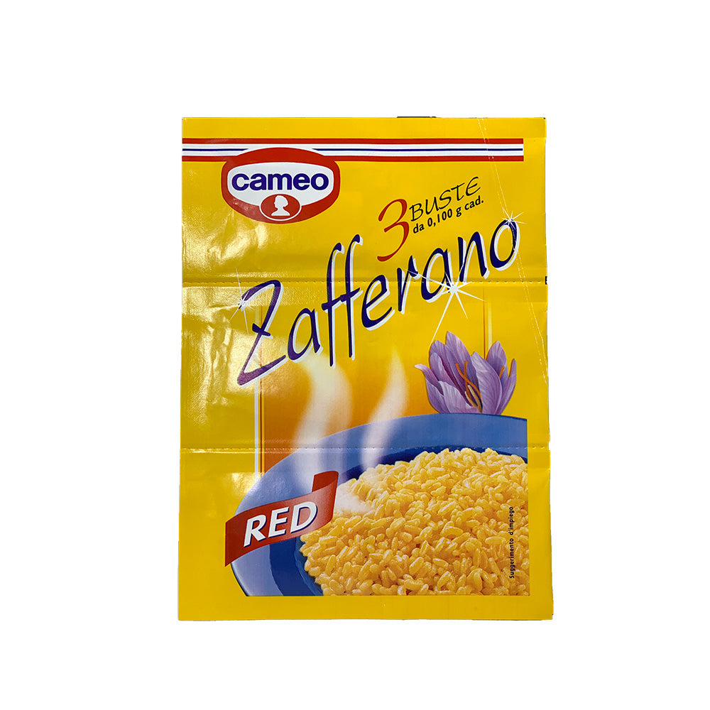 Zafferano Cameo, 3 envelopes saffron 3x0.100g