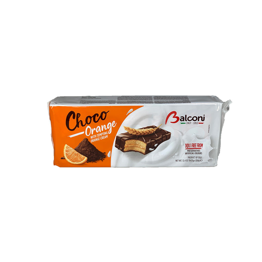 Choco Orange Balconi 10x35g= 350g