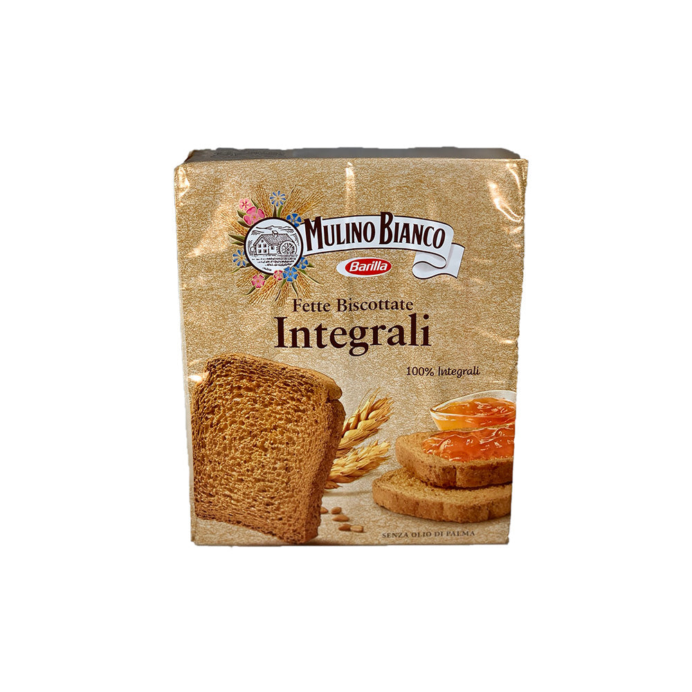Mulino Bianco Fette Biscottate whole wheat 315g